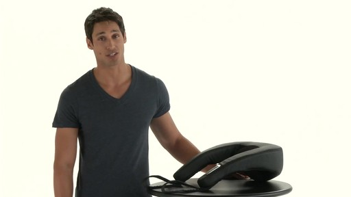 Brookstone Shiatsu Neck & Shoulder Massager - image 1 from the video