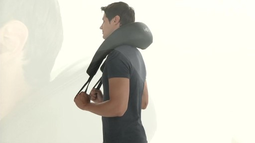 Brookstone Shiatsu Neck & Shoulder Massager - image 7 from the video