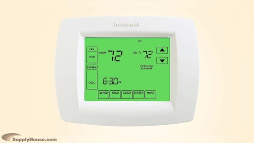 Honeywell VisionPro 8000 Series Thermostats - image 4 from the video