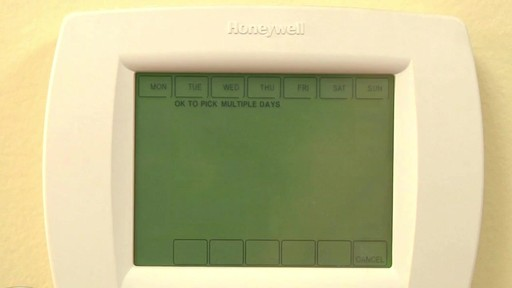 Honeywell VisionPro 8000 Series Thermostats - image 6 from the video