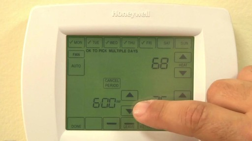 Honeywell VisionPro 8000 Series Thermostats - image 7 from the video