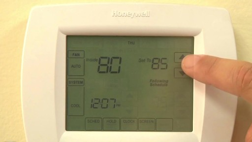 Honeywell VisionPro 8000 Series Thermostats - image 8 from the video