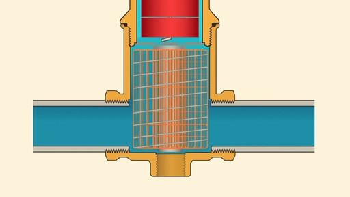 Spirotherm air eliminators overlaytype vjr