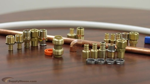 Connecting PEX Tubing to Copper Pipe - image 1 from the video