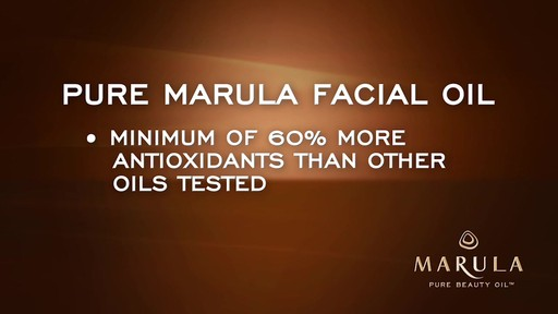Pure Marula Facial Oil - image 5 from the video
