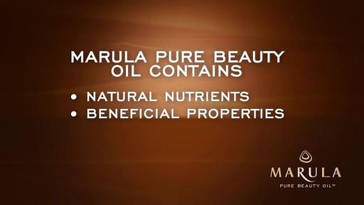 Behind the Brand: Marula Pure Beauty Oil - image 4 from the video