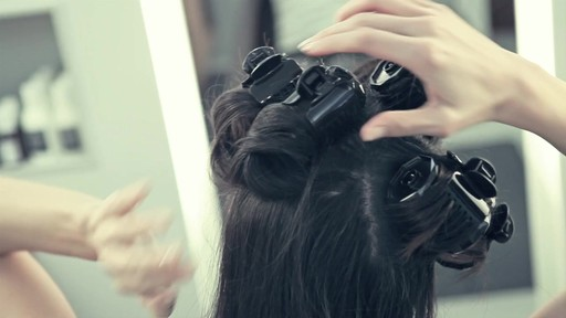 Get Voluminous Hair with T3 Hot Rollers - image 6 from the video
