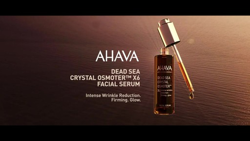 Ahava's Crystal Osmoter Facial Serum - image 10 from the video