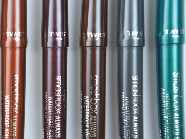Smashbox Always Sharp Waterproof Eyeliner - image 7 from the video