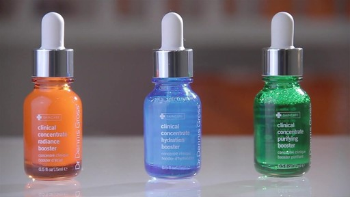 Dr. Dennis Gross Skincare Clinical Concentrate Boosters - image 2 from the video