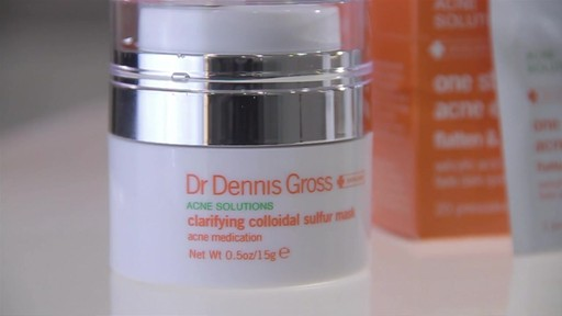 Dr. Dennis Gross Clarifying Colloidal Sulfur Mask - image 7 from the video