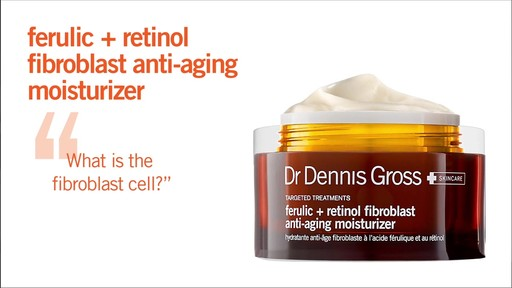 Dr. Dennis Gross Skincare Ferulic Retinol Anti-Aging Moisturizer - image 1 from the video