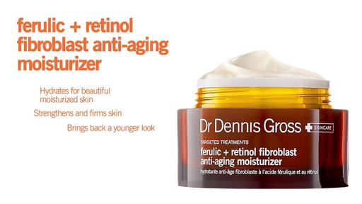 Dr. Dennis Gross Skincare Ferulic Retinol Anti-Aging Moisturizer - image 10 from the video