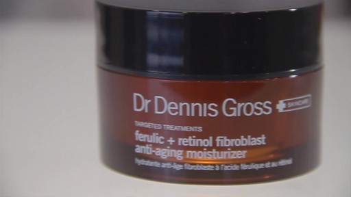 Dr. Dennis Gross Skincare Ferulic Retinol Anti-Aging Moisturizer - image 2 from the video