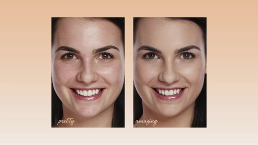 How to apply bareMinerals Bare Skin Foundation - image 10 from the video