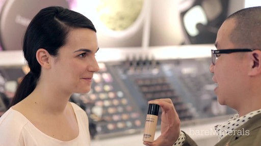 How to apply bareMinerals Bare Skin Foundation - image 4 from the video