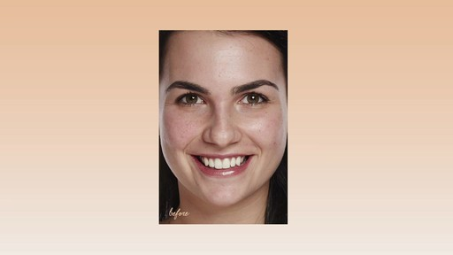 How to apply bareMinerals Bare Skin Foundation - image 6 from the video