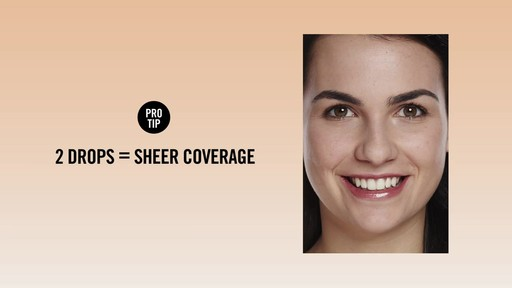 How to apply bareMinerals Bare Skin Foundation - image 7 from the video