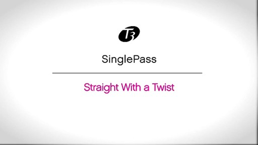 T3 SinglePass, Straight With a Twist - image 1 from the video
