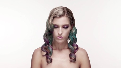 Hair Color Chalk Tutorial - image 7 from the video