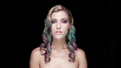 Hair Color Chalk Tutorial - image 8 from the video