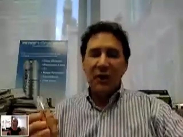 Skype: Peter Thomas Roth Unwrinkle Foundation - image 4 from the video