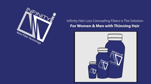 Infinity Hair Fibers: Hair Loss Concealing Fibers for Men & Women - image 3 from the video