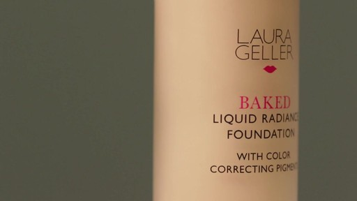 Laura Geller Beauty Baked Liquid Radiance Foundation - image 6 from the video