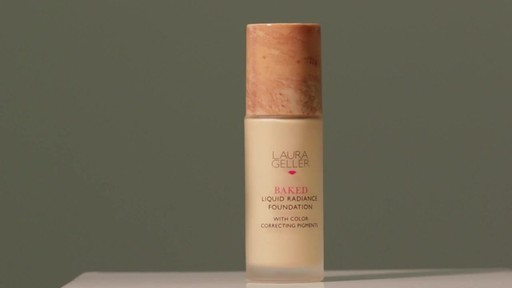 Laura Geller Beauty Baked Liquid Radiance Foundation - image 7 from the video