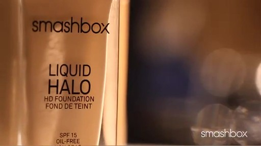 Get Flawless and Luminous Skin with Smashbox Liquid Halo Foundation - image 8 from the video