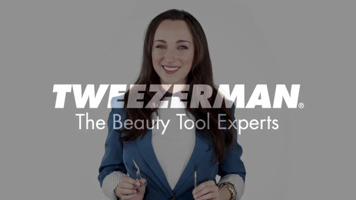 Tweezerman: Brow Shaping Scissors and Brush - image 10 from the video