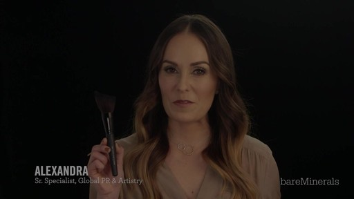 Brush Restage: bareMinerals Soft Curve Face & Cheek Brush - image 2 from the video