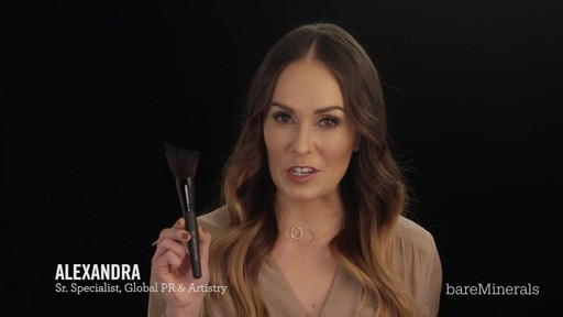 Brush Restage: bareMinerals Soft Curve Face & Cheek Brush - image 3 from the video