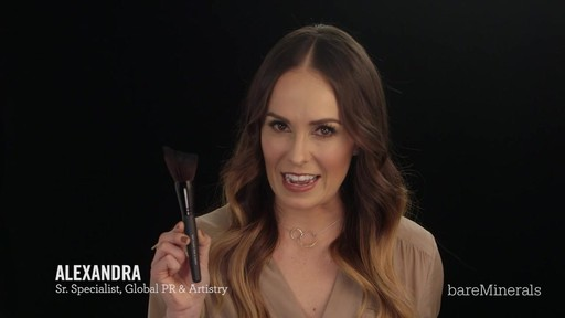 Brush Restage: bareMinerals Soft Curve Face & Cheek Brush - image 4 from the video