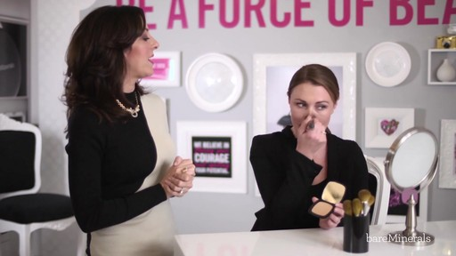 bareMinerals READY SPF 20 Foundation: Full Coverage Application Technique - image 6 from the video