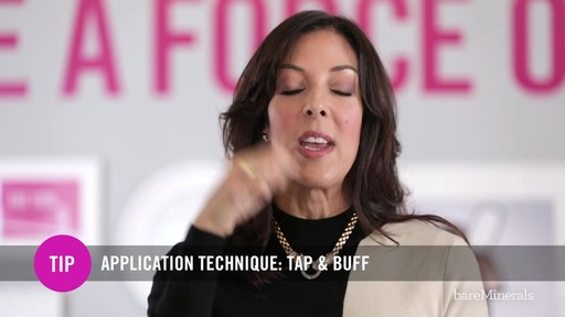 bareMinerals READY SPF 20 Foundation: Full Coverage Application Technique - image 9 from the video