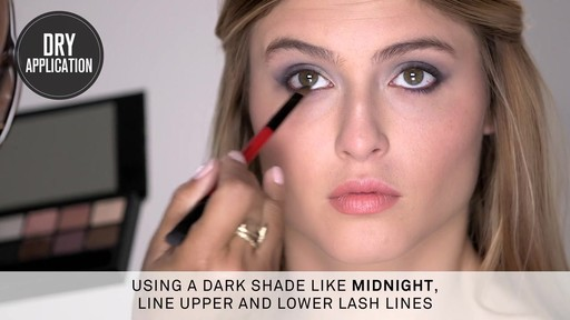 Smashbox Double Exposure Palette | Dramatic Look - image 5 from the video