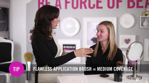 bareMinerals READY SPF 20 Foundation: Medium Coverage Application Technique - image 3 from the video
