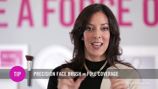 bareMinerals READY SPF 20 Foundation: Medium Coverage Application Technique - image 8 from the video