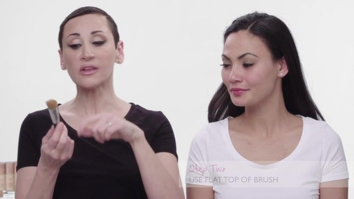 How to apply Laura Geller Baked Radiance Foundation - image 4 from the video