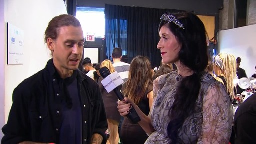 Beauty.com: Backstage at HONOR Spring 2014 - image 3 from the video