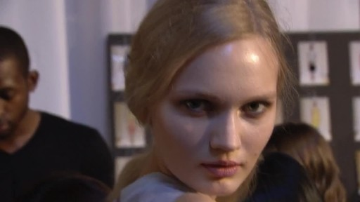 Beauty.com: Backstage at HONOR Spring 2014 - image 9 from the video