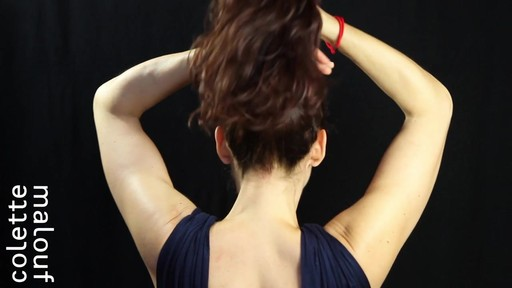 Colette Malouf M Pin How-To: Top Knot - image 1 from the video