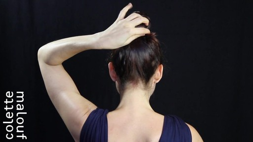 Colette Malouf M Pin How-To: Top Knot - image 7 from the video