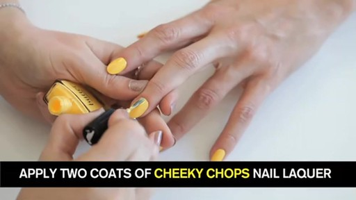 butter LONDON: 3D Pop Art Summer Nail Tutorial - image 3 from the video