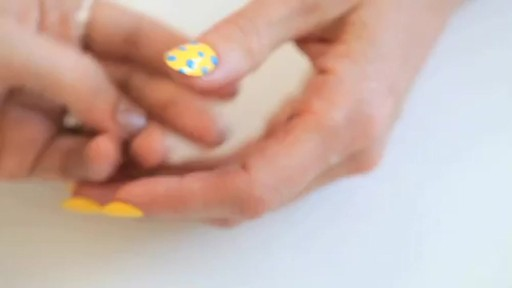butter LONDON: 3D Pop Art Summer Nail Tutorial - image 7 from the video