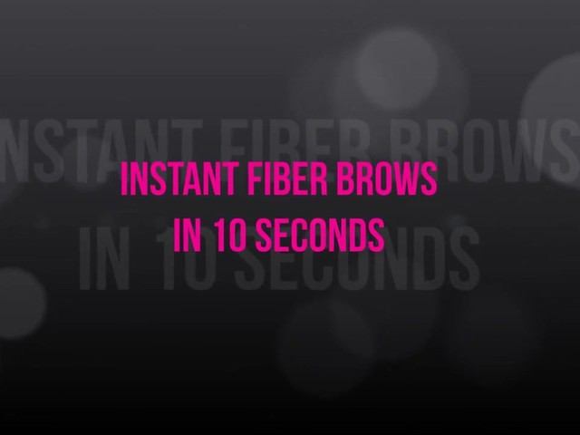 Cherry Blooms Instant Fiber Brows Application for Blonde Hair - image 1 from the video