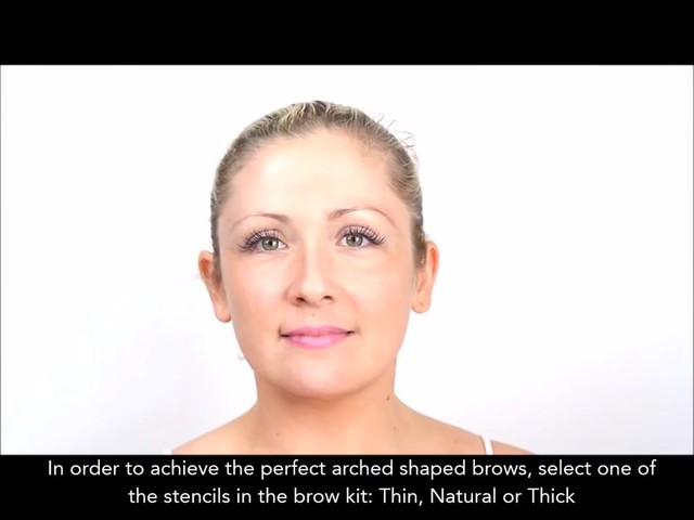 Cherry Blooms Instant Fiber Brows Application for Blonde Hair - image 2 from the video