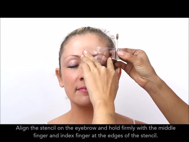 Cherry Blooms Instant Fiber Brows Application for Blonde Hair - image 3 from the video
