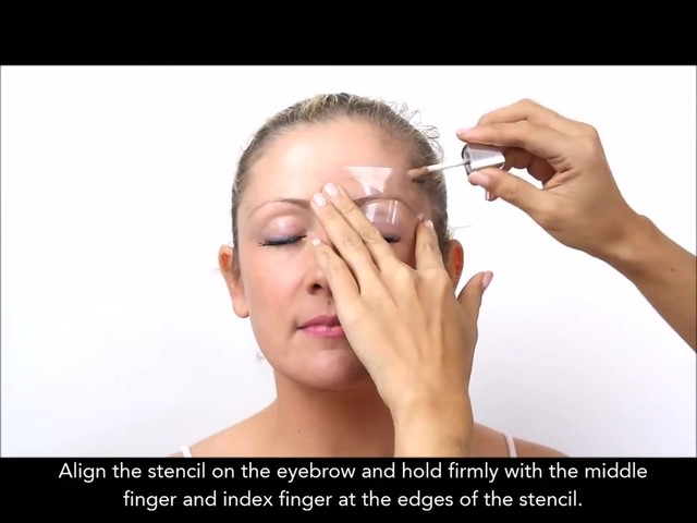 Cherry Blooms Instant Fiber Brows Application for Blonde Hair - image 4 from the video